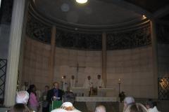 Durant la messe