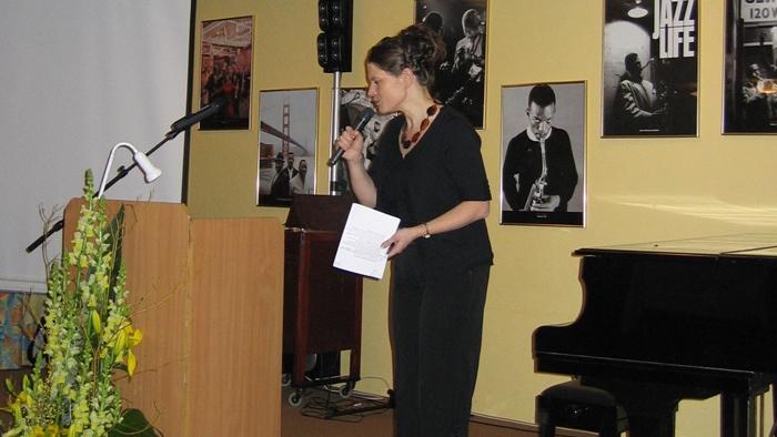 Evelyne Oberson, journaliste