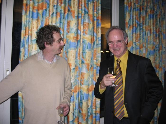 Daniel Rausis et André Kolly