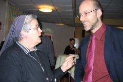 Sr Catherine Jérusalem et Fabien Hünenberger