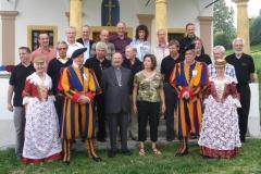 Chapelle des Agettes, 2008-08-31, Messe Radio, avec le Cardinal Schwery