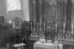 Saint-Maurice, Abbaye 1940-05-12, 1ère messe radio