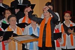 Echallens 2007 - Messe TV, chorale