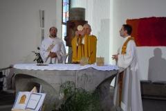 Malleray 2010 - Messe TV, célébration