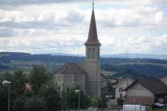 Ursy 2011 - Messe TV, extérieur église