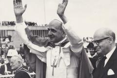 Paul VI à Genève, au COE le 10 juin 1969